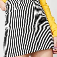 Bottom Line Mini Skirt