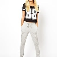 ASOS Lightweight Sweatpants in Slim Fit - Gray