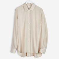 High-low Tencel Shirt Chiffon - Blouses - Shop Woman - Filippa K