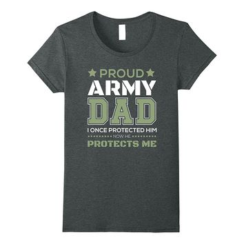 Proud Army Dad Protect Son T-Shirts