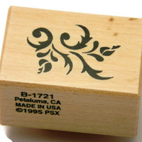 Flower Stamp - Decorative Stamp - PSX Rubber Stamp - Vintage Art Stamps - Arts and Crafts - Stamping Supplies - Paper and Ink Stamps