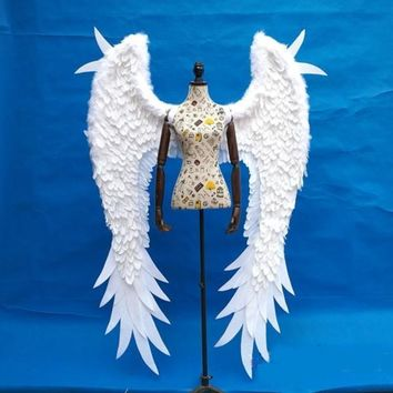 Adult Beautiful Angel Feather Wings Cosplay Angel Fairy
