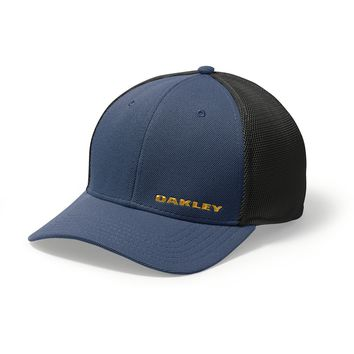 Oakley Silicon Bark Golf Hat BLUE SHADE