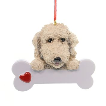 Personalized Ornament Labradoodle Personalized Ornament