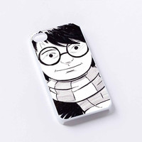 harry potter cartoon iPhone 4/4S, 5/5S, 5C,6,6plus,and Samsung s3,s4,s5,s6