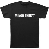 Minor Threat Men's  Just A Tee T-shirt Black