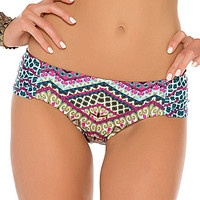 Becca by Rebecca Virtue Borrowed from the Boys Draped Hipster Bottom