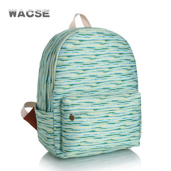 Casual Canvas Korean Fashion Stylish Backpack = 4888043332