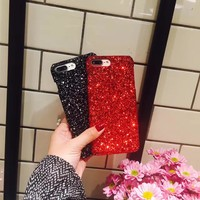Case For iPhone 5 5s  Sparkle Cover Women Case For iPhone 7 6 6s Plus