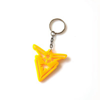 Instinct Team Acrylic Keychain Pokemon GO Acrylic Keyring Laser Cut Gift Laser Etched and Engraved The Best Gift for Her for Him