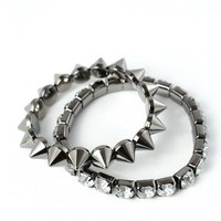 Crystal Spike Twin Bracelets