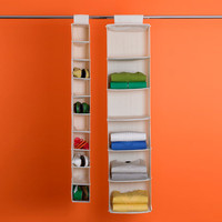 The Container Store > 10-Compartment Canvas Hanging Shoe Bag