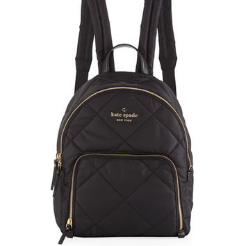 kate spade new york watson lane quilted hartley nylon backpack