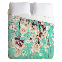 Lisa Argyropoulos Spring Showers Duvet Cover