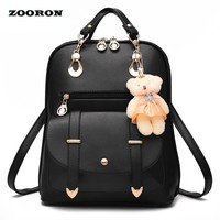School Backpacks  for kids  for college With Bear High Quality