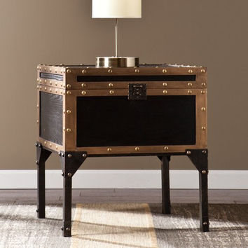 Drifton Travel Trunk End Table