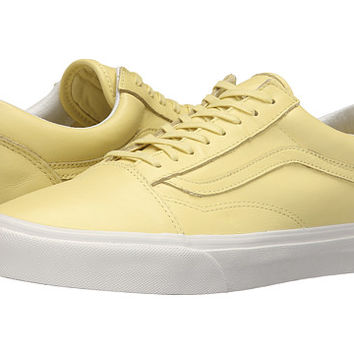 Vans Old Skool™ (Pastel Pack) Yellow Cream/Blanc de Blanc - Zappos.com Free Shipping BOTH Ways