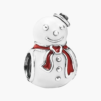 Women's PANDORA 'Happy Snowman' Charm
