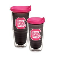 Tervis® University of South Carolina Tumbler with Lid in Neon Pink