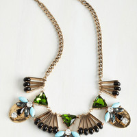 Vintage Inspired Fine Shining Necklace by ModCloth