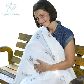 Baby  Wrap 100% Muslin Cotton for Newborn  Blanket Swaddling White Baby Lightness  Sleeping  Bedding Bag Infant Swaddle