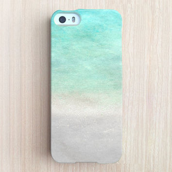iPhone 6 Case, iPhone 6 Plus Case, iPhone 5S Case, iPhone 5 Case, iPhone 5C Case, iPhone 4S Case, iPhone 4 Case - Water Color Ombre Salt