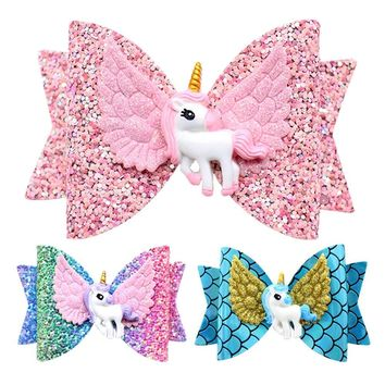 Unicorn Wing Bows