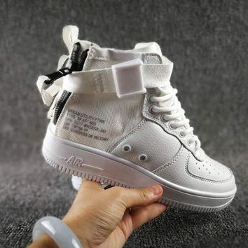 PEAPNW6 Originals Nike Special Field SF AF1 Mid Running Sport Casual Shoes 917753 White Sneakers