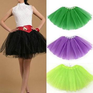 2016 Jupon Rockabilly Petticoat Underskirt Crinoline Retro Vintage Women Party Black Skirt Slips tulle Pettiskirt 3 Layers