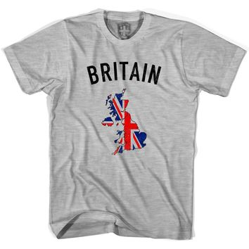 Great Britain Flag & Country T-shirt
