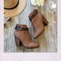 Barcelona Booties- Brown