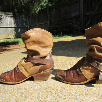 Stirrup Spanish Cowgirl Vintage Slouchy Ankle by BohemianSeed