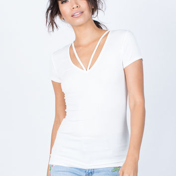 Anna Strappy Tee