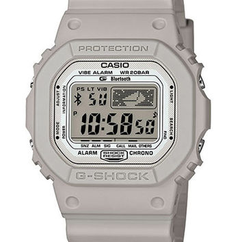Casio Mens G-Shock Kevin Lyons Ltd Edition   Bluetooth - Grey Case & Strap