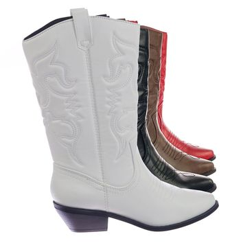 2d9d291db9b Shop White Western Boots on Wanelo