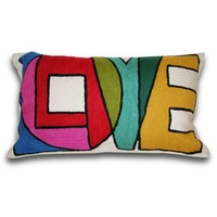 Graphic Love Pillow