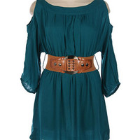 The Country Girl, teal - In Bloom