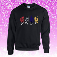 Pokemon Symbol RWBY Sweater Sweatshirt Unisex Adults