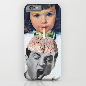 Reptilian Snack iPhone & iPod Case by Eugenia Loli