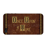 Once Upon A Time I Phone 4/4s Case Cover - Henry's Book - Fast US Shipping