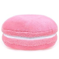 Creative Macaron Pillow Candy Color Desserts Pillow Soft Stuffed Pillow Shaped Plush Pillow Cushion for Travel Cars Homes Office (5)
