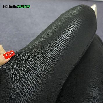 KISSyuer 2017 Snake python printed Faux leather leggings PU leather leggins Shiny Push Up Asymmetric Women Warm leggings KL0071