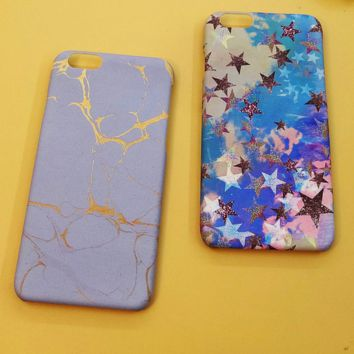 Marble Texture Case Cover for iPhone 6 6s Plus Gift
