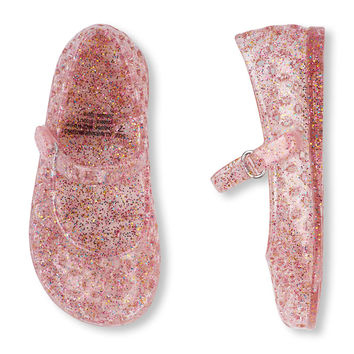 Toddler Girls Mary Jane Jelly Flat   The Children's Place