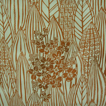 Geometric Floral Vintage Japanese Tango chrimen silk kimono fabric 65 inches wide x 14 inches long