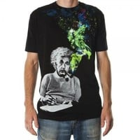 Einstein Smoking Men's Black Tee