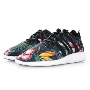 ADIDAS Y-3 FOOTWEARADIDAS Y-3 YOHJI BOOST BLACK SHOES B34320