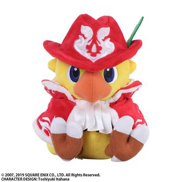Chocobo Red Mage - Plush - Chocobo's Mystery Dungeon Every Buddy! (Pre-order)