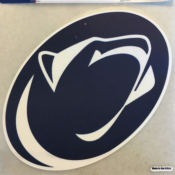 PENN STATE LIONS TEAM COLOR CAR WINDOW DECAL SHIPPING