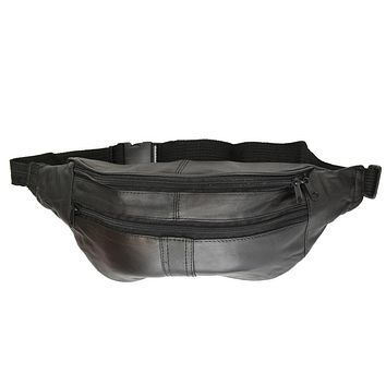 Waist Pouch Genuine Leather Traveling Bag